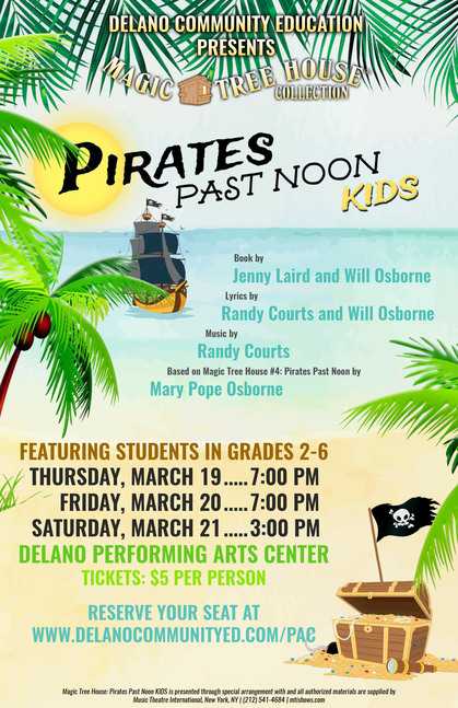 'Pirates Past Noon' runs March 19-21