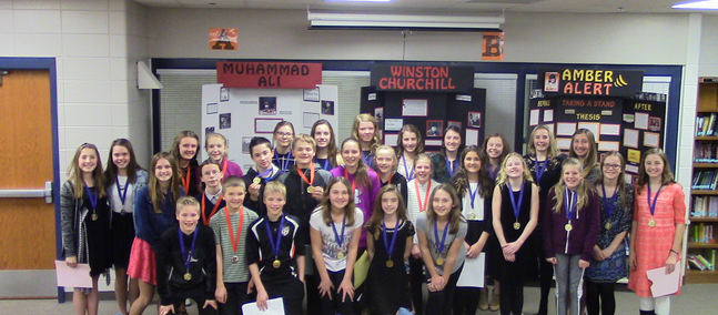 DMS Students Advance to History Day Regional Competition