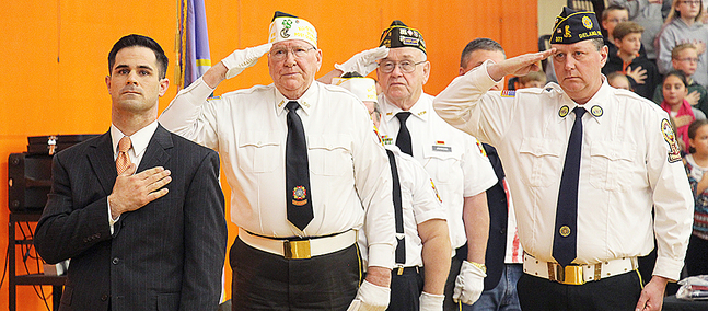 Veterans honored for service to country